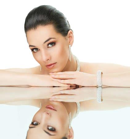 portrait of beautiful woman with jewelry Stock Photo - 11713562