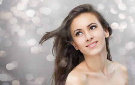 1 young woman only: portrait of a beautiful healthy girl