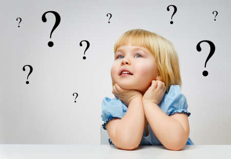 questioning: thought the little beauty girl