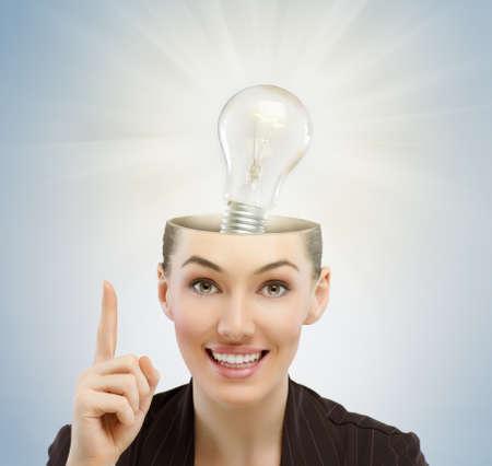 generates: the girl generates the idea of