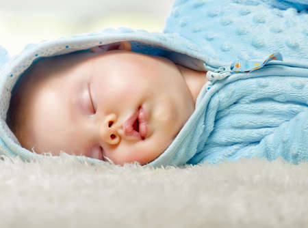 small child was sleeping sweetly Stock Photo - 18352734