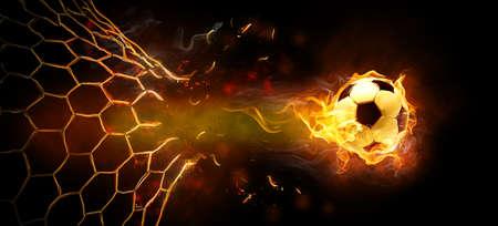 Symbole de la flamme sur le noir Banque d'images - 24918982