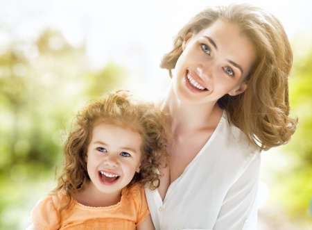happy mother and child together Stock Photo - 29552819