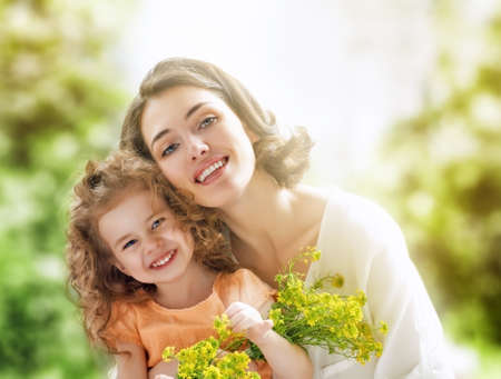 happy mother and child together Stock Photo - 29552827