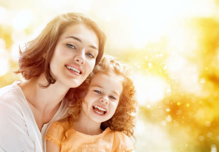 happy mother and child together Stock Photo - 29464421