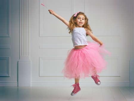 enjoying life: a beautiful child enjoying life