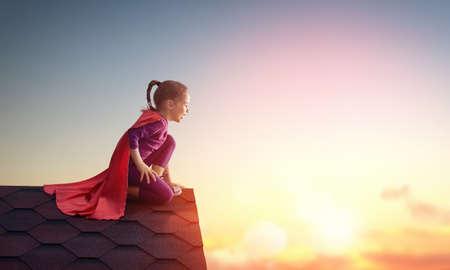 A menina crian