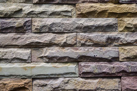 Brick pattern background rough surface wall of house