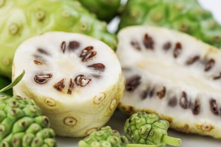 Noni or Morinda Citrifolia fruits