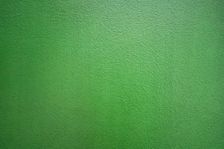 Green color cement concrete wall for texture background. Standard-Bild