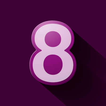 number eight: Volume icons number: eight