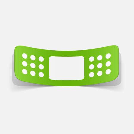 paper sticker: Plaster bands
