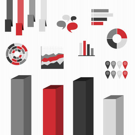 Infographics. Set elements