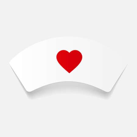 enfermera con cofia: etiqueta engomada de papel: casquillo de la enfermera