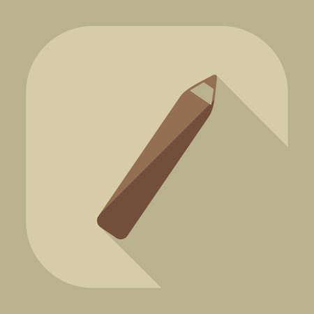 eyeliner: Flat modern design with shadow icon Eyeliner