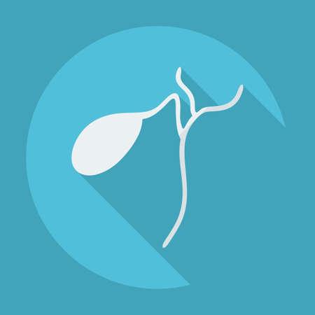 gallbladder: Gallbladder design with shadow