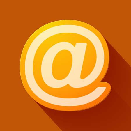 e  mail: Volume icons symbol: e mail sign