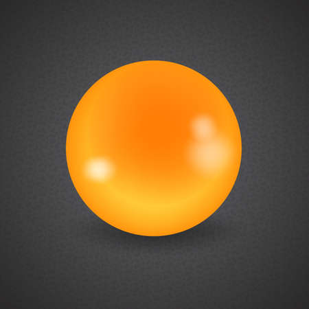 cue: set of billiard balls, billiards, American cue, a yellow ball Illustration