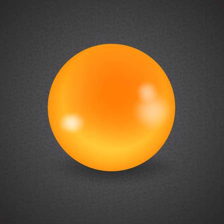 cue ball: set of billiard balls, billiards, American cue, a yellow ball Illustration
