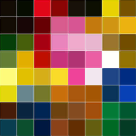 separated: background of different colors separated squares mosaic