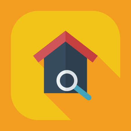 nesting box: Flat modern design with shadow icons nesting box Illustration
