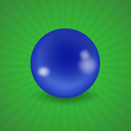 blue ball: set of billiard balls, billiards, American blue ball