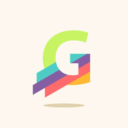 Letter G logo icon design template elements  イラスト・ベクター素材