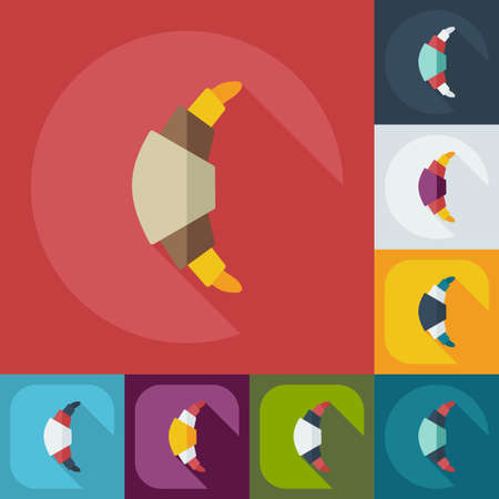 sweetness: Flat modern design with shadow icons, sweetness Illustration