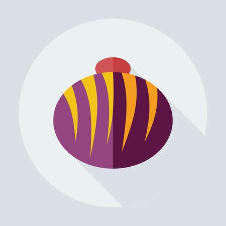 hard stuff: Flat modern design with shadow icons sweet Illustration