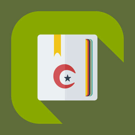 mohammad: Flat modern design with shadow icons Curran Illustration