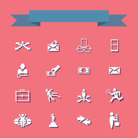 medical distribution: figure stick icon vector  peaople