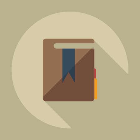 edicto: Dise�o moderno plana con la sombra de los iconos de carpetas decreto
