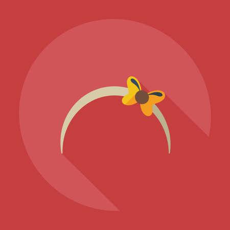 bijou: Flat modern design with shadow icons bijouterie