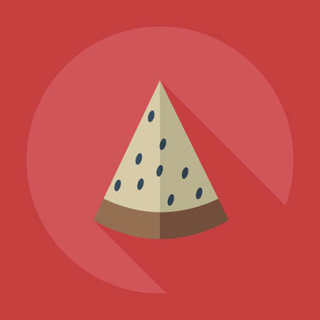 palatable: Flat modern design with shadow icons watermelon