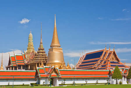Wat Phra Kaew, The Emerald Buddha Temple, Thailand photo