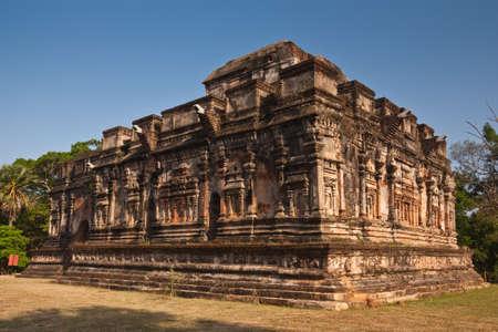 srilanka: Ancient building in Polonnaruwa, Sri-Lanka, UNESCO World Heritage Site