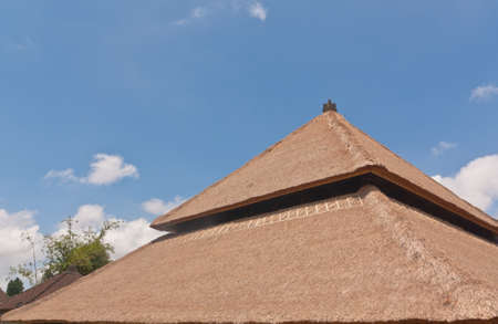 thatch: Balinese style thatch roof in Bali, Indonesia
