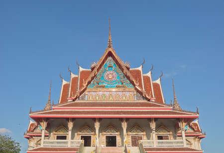 samutprakarn: Thai Buddhist temple monastery in Samutprakarn, Thailand