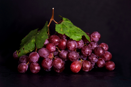 favour: The red grape is favour and delicious  fruit. Stock Photo