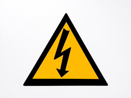 voltage danger icon: icon high voltage electric danger warning area.