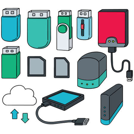 flashdisk: vector set of storage device