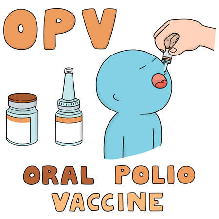 vector set of oral polio vaccine