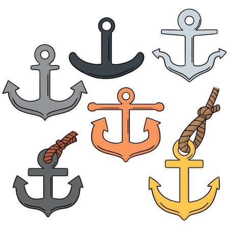 vector set of anchor