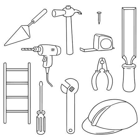 rasp: vector set of construction tool