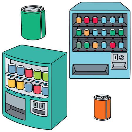 vector set van de automaat Vector Illustratie