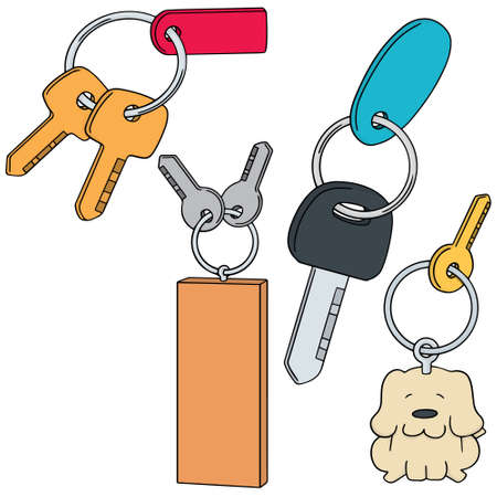 keychain: vector set of keychain