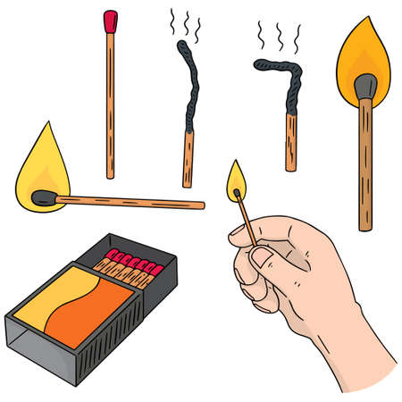 matches: vector set of matches