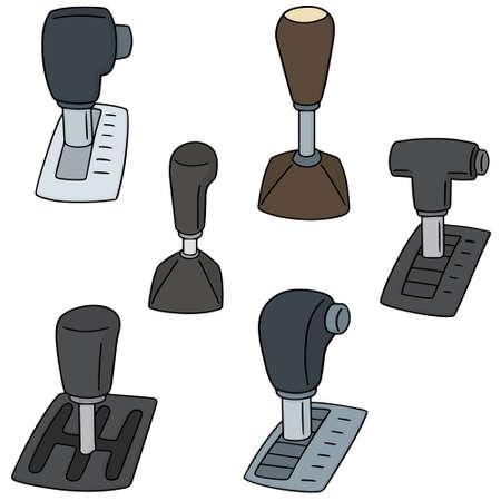 Vektor Reihe von Pkw-Getriebe