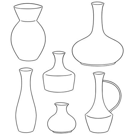 5920 Vase Shapes Stock Illustrations Cliparts And Royalty Free