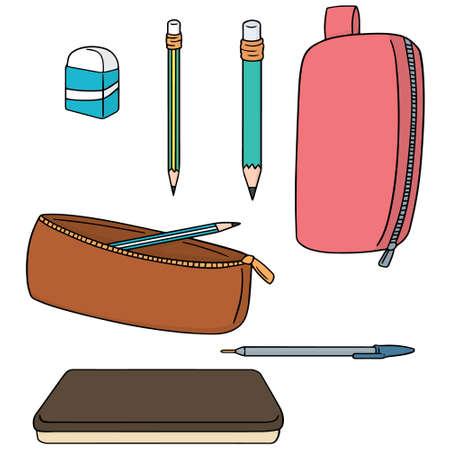 Vektor Satz von Bleistift Fall